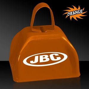 "3"" Orange Metal Cowbell"
