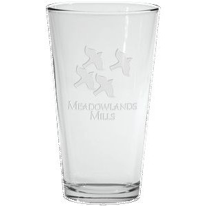 16 Oz. Pint Glass - Etched