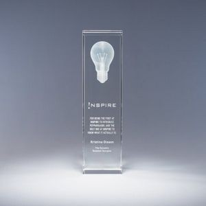 "10"" Luminosity Crystal Award"