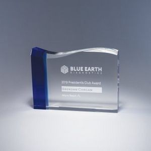 "4.75"" Oceanic Crystal Award"