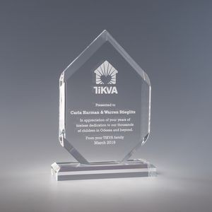 Elemental Clear Acrylic Award
