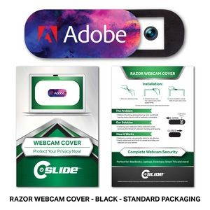 Webcam Cover Razor with Standard Packaging